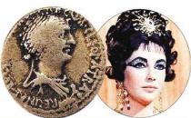 揭秘埃及艳后不是美女 一枚古银币揭秘历史真相