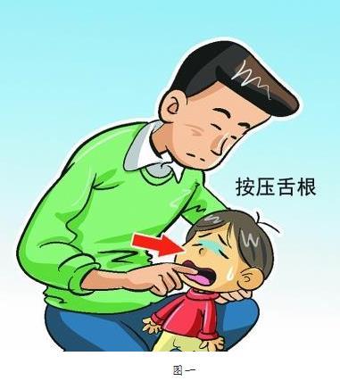 宝宝喉咙卡异物急救方法(图)