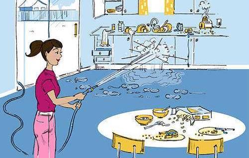 【居家保养】厨房这样打扫才干净