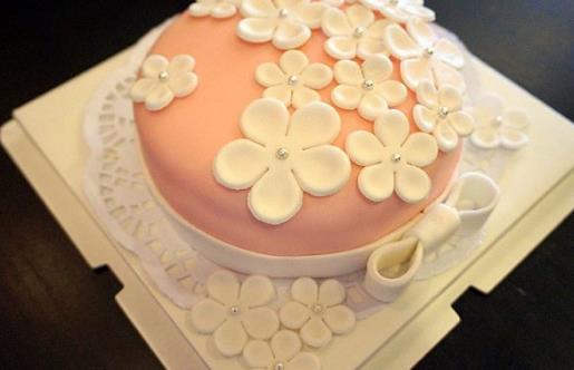翻糖蛋糕的制作技巧