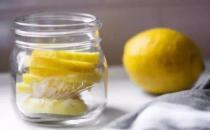 喝柠檬泡水美白又瘦身 来泡一杯优质柠檬水吧