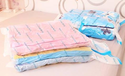 真空压缩袋给生活带来便利 选购及使用真空压缩袋的窍门
