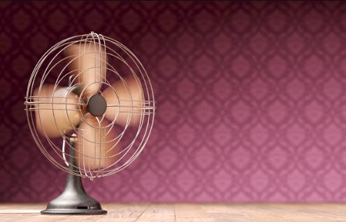 电风扇网罩不用拆也能清洗得干净
