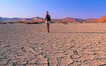 难熬的高温天气 降暑时该出汗时就出汗