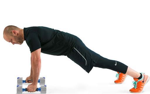 做正确的俯卧撑 零起步学习俯卧撑练习方法