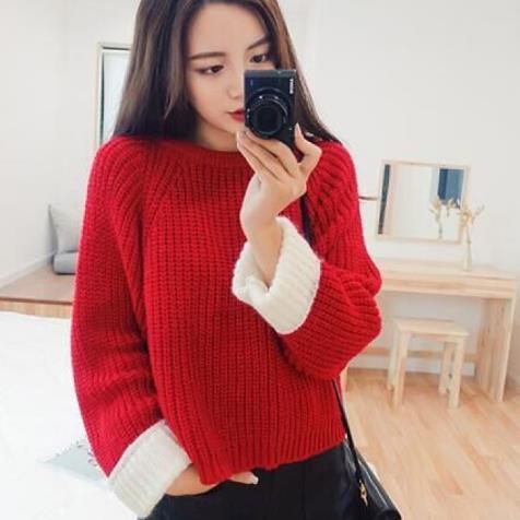 胖女生穿什么打底衫显瘦好看 各种毛衣针织衫款式图片欣赏