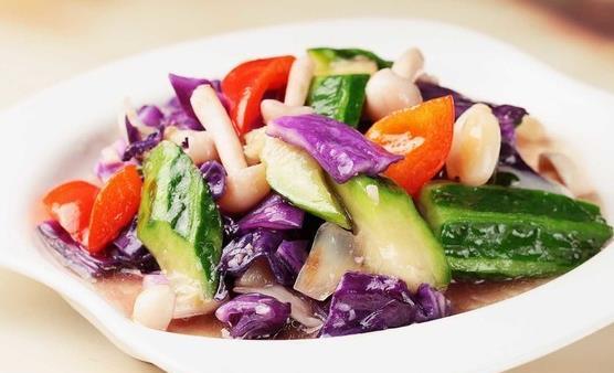 紫甘蓝富含较多维生素 紫甘蓝六种美味做法