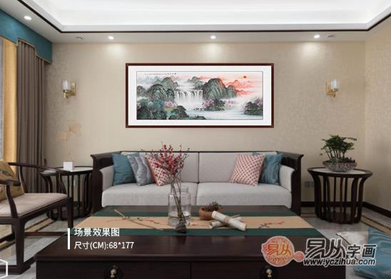 客厅挂什么画好?客厅挂画给予舒适的家一种风格