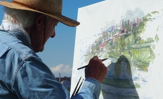 老年抑郁症的症状表现 对抑郁型老人绘画是种好疗法