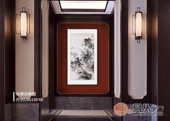 客厅玄关装饰画之色彩篇 让家美出与众不同